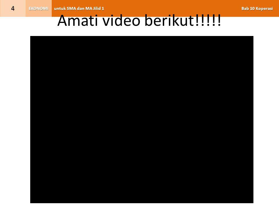 Amati video berikut!!!!!