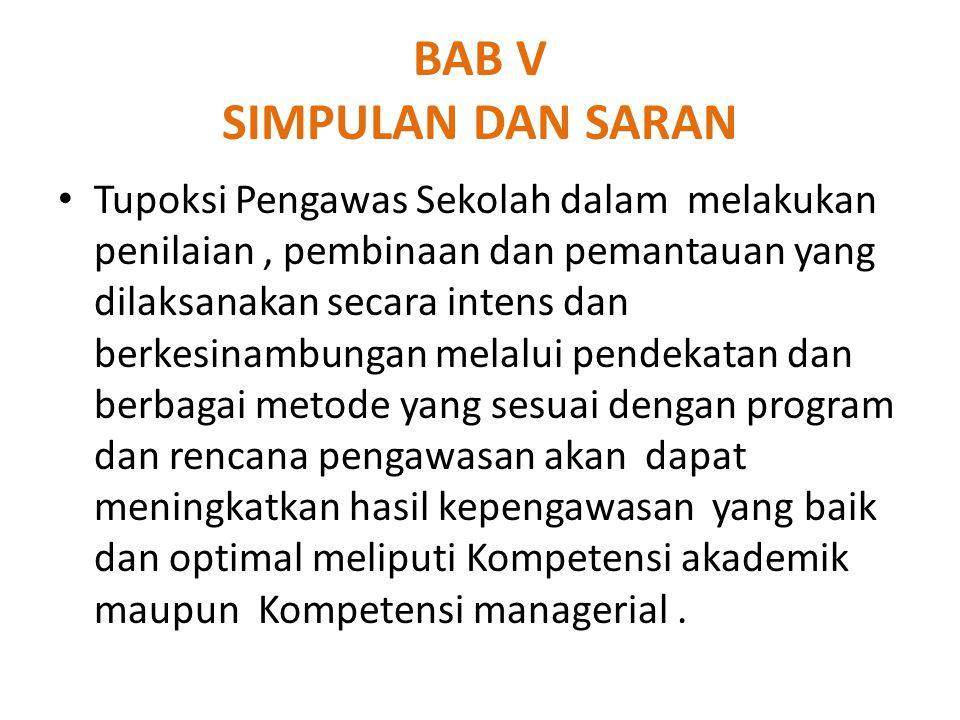 BAB V SIMPULAN DAN SARAN