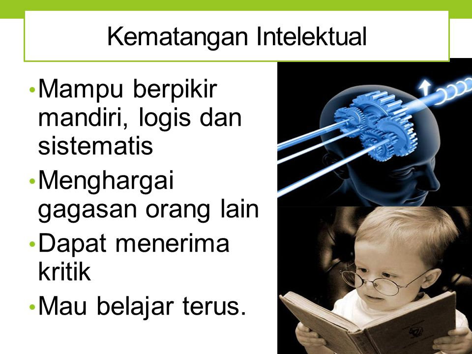 Kematangan Intelektual