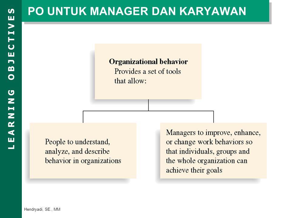 PO UNTUK MANAGER DAN KARYAWAN