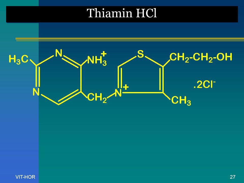 Thiamin HCl VIT-HOR