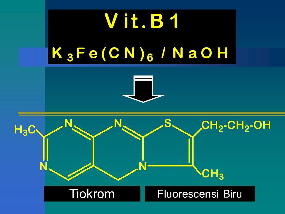 Tiokrom Fluorescensi Biru
