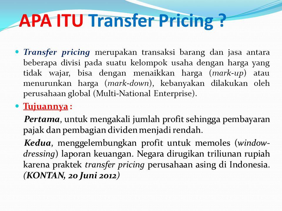 APA ITU Transfer Pricing