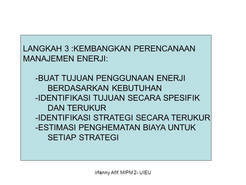 Irfanny Afif. MIPM 2- UIEU