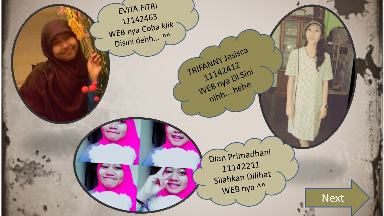 Next TRIFANNY Jesisca 11142412 WEB nya Di Sini nihh... hehe