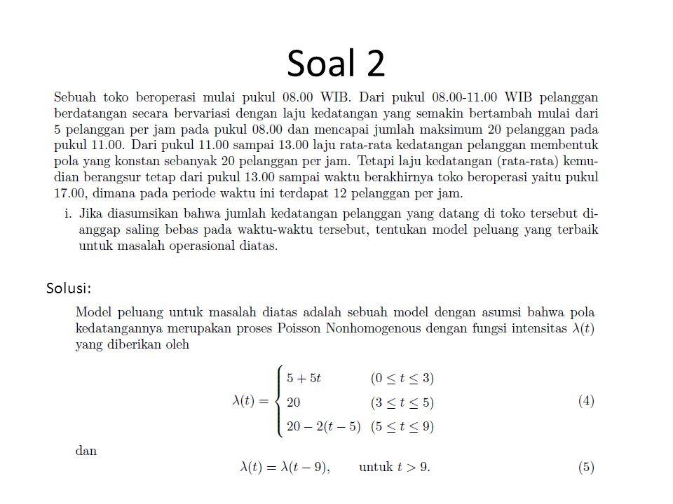 Soal 2 Solusi: