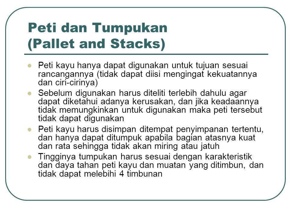 Peti dan Tumpukan (Pallet and Stacks)