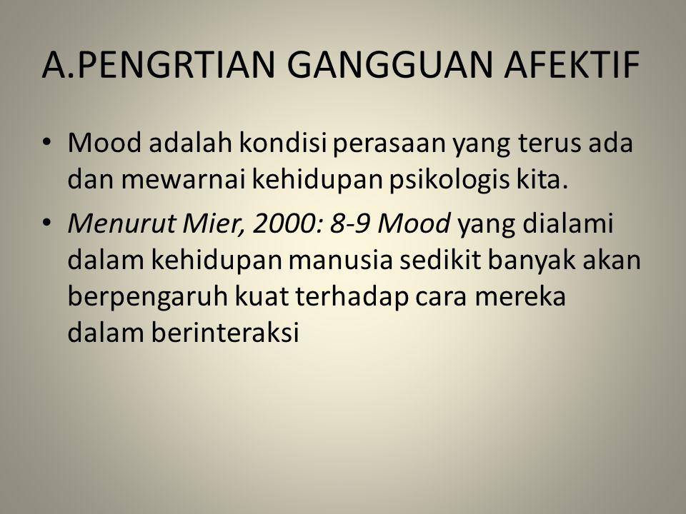 A.PENGRTIAN GANGGUAN AFEKTIF