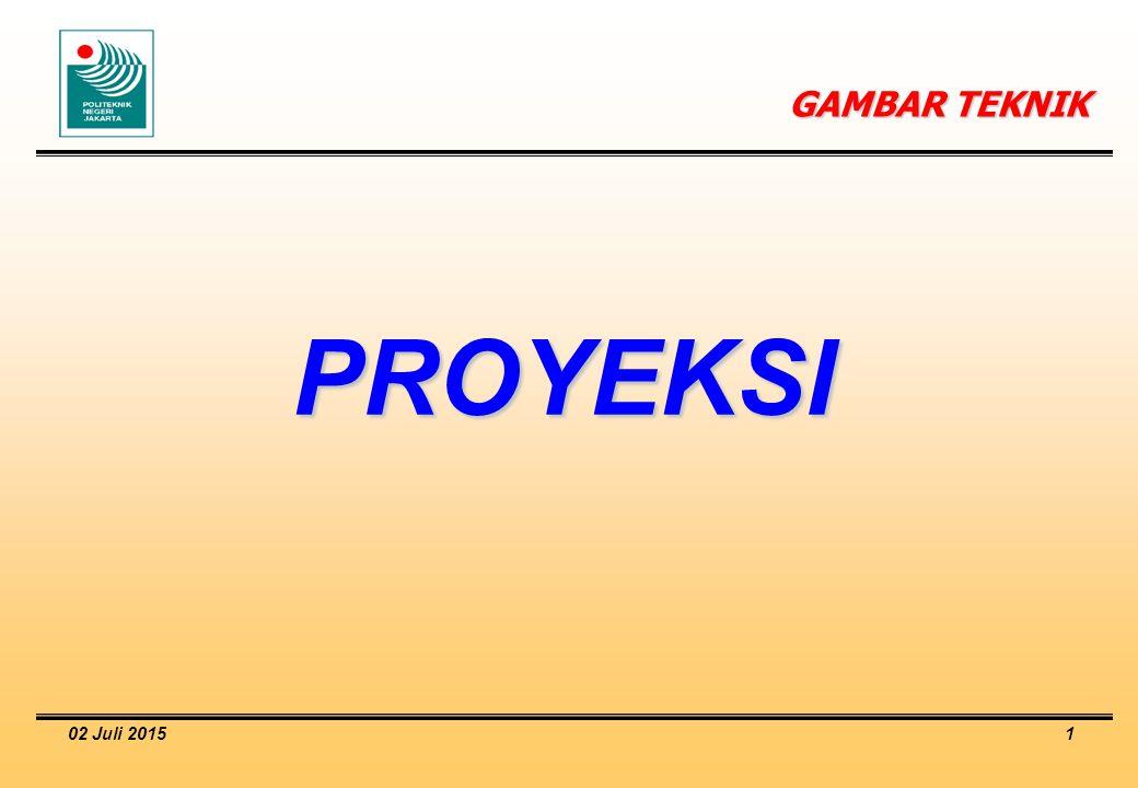 GAMBAR TEKNIK PROYEKSI 17 April 2017
