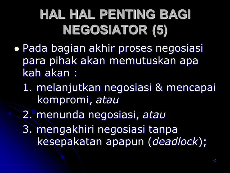 HAL HAL PENTING BAGI NEGOSIATOR (5)