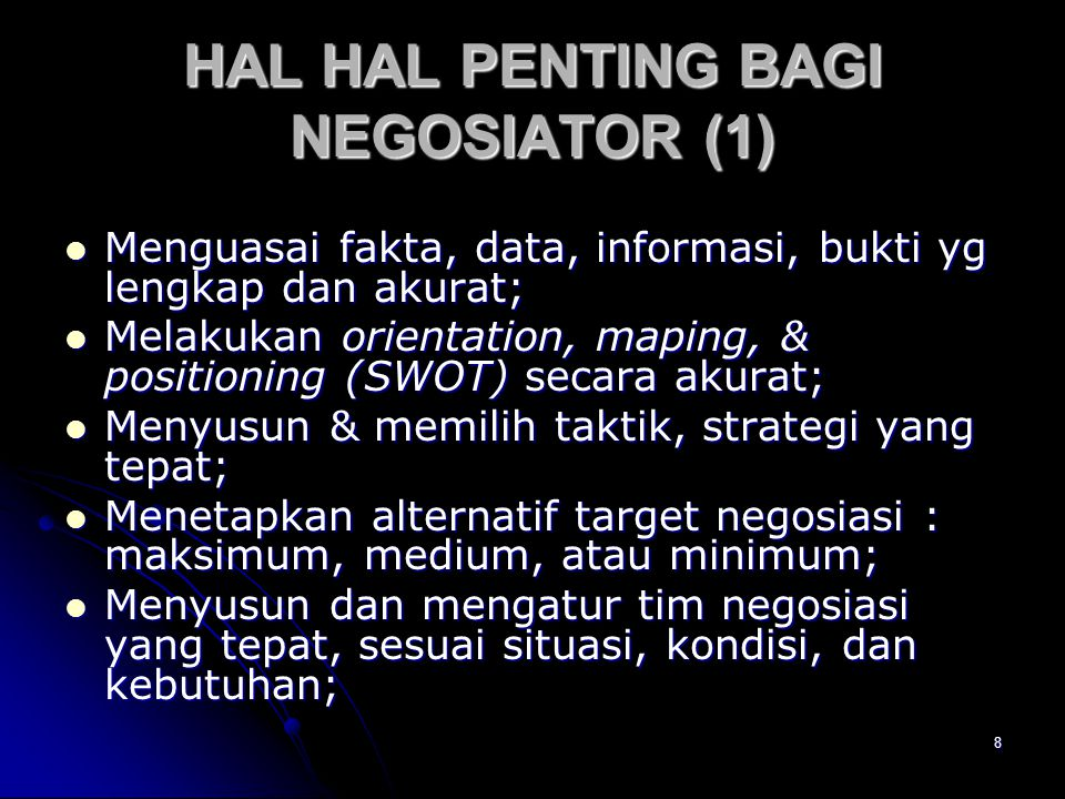 HAL HAL PENTING BAGI NEGOSIATOR (1)