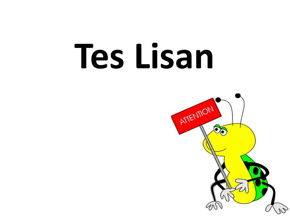 Tes Lisan