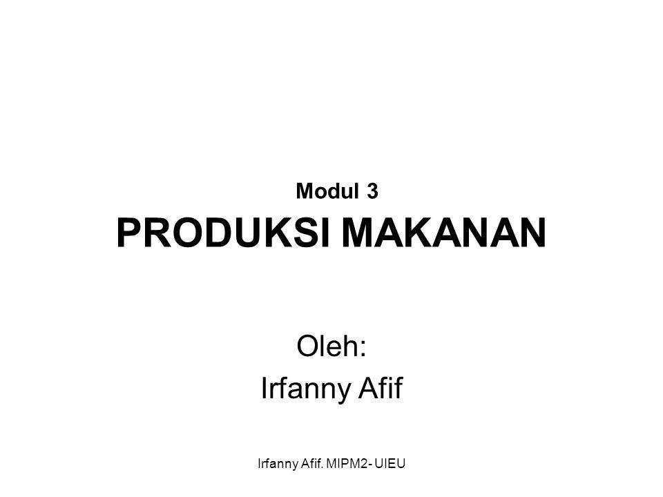Modul 3 PRODUKSI MAKANAN