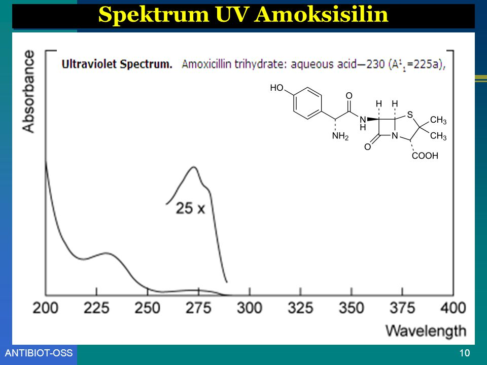 Spektrum UV Amoksisilin