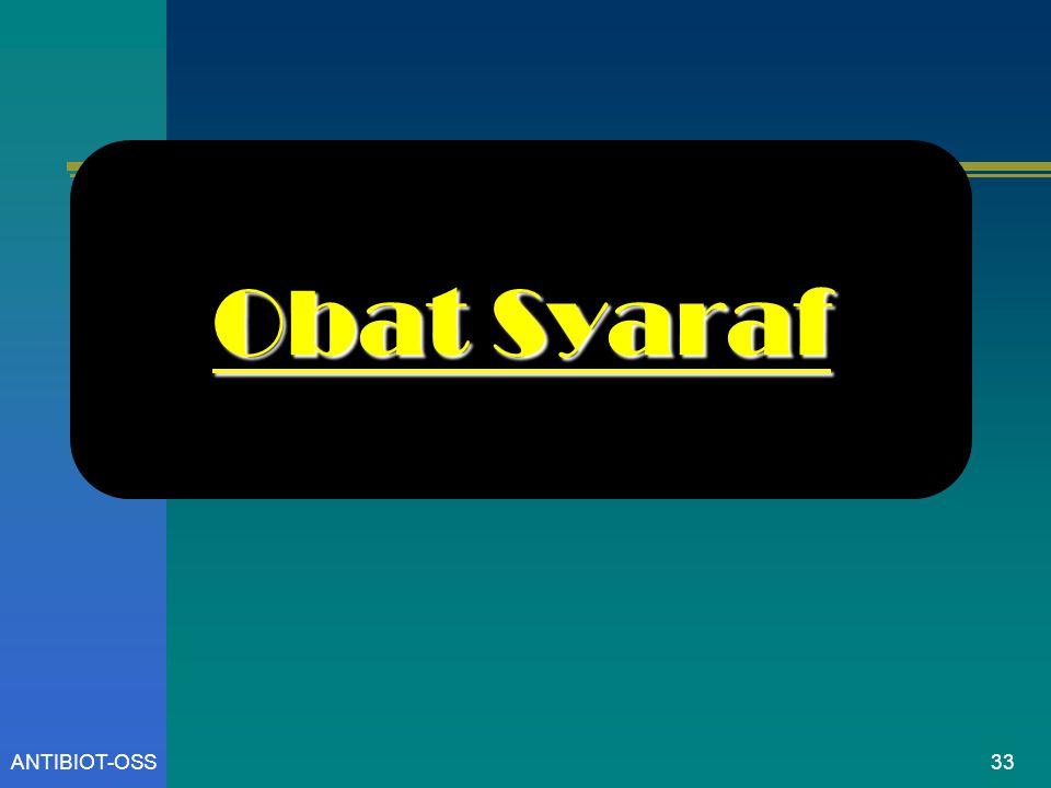 Obat Syaraf ANTIBIOT-OSS