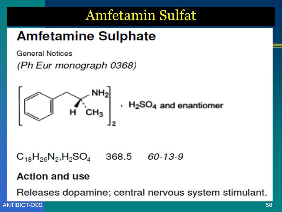 Amfetamin Sulfat ANTIBIOT-OSS
