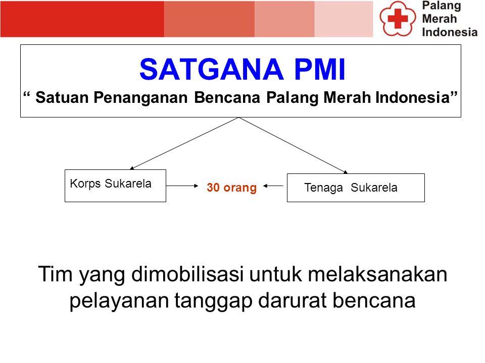 Satuan Penanganan Bencana Palang Merah Indonesia