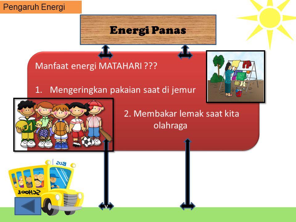 Energi Panas Manfaat energi MATAHARI
