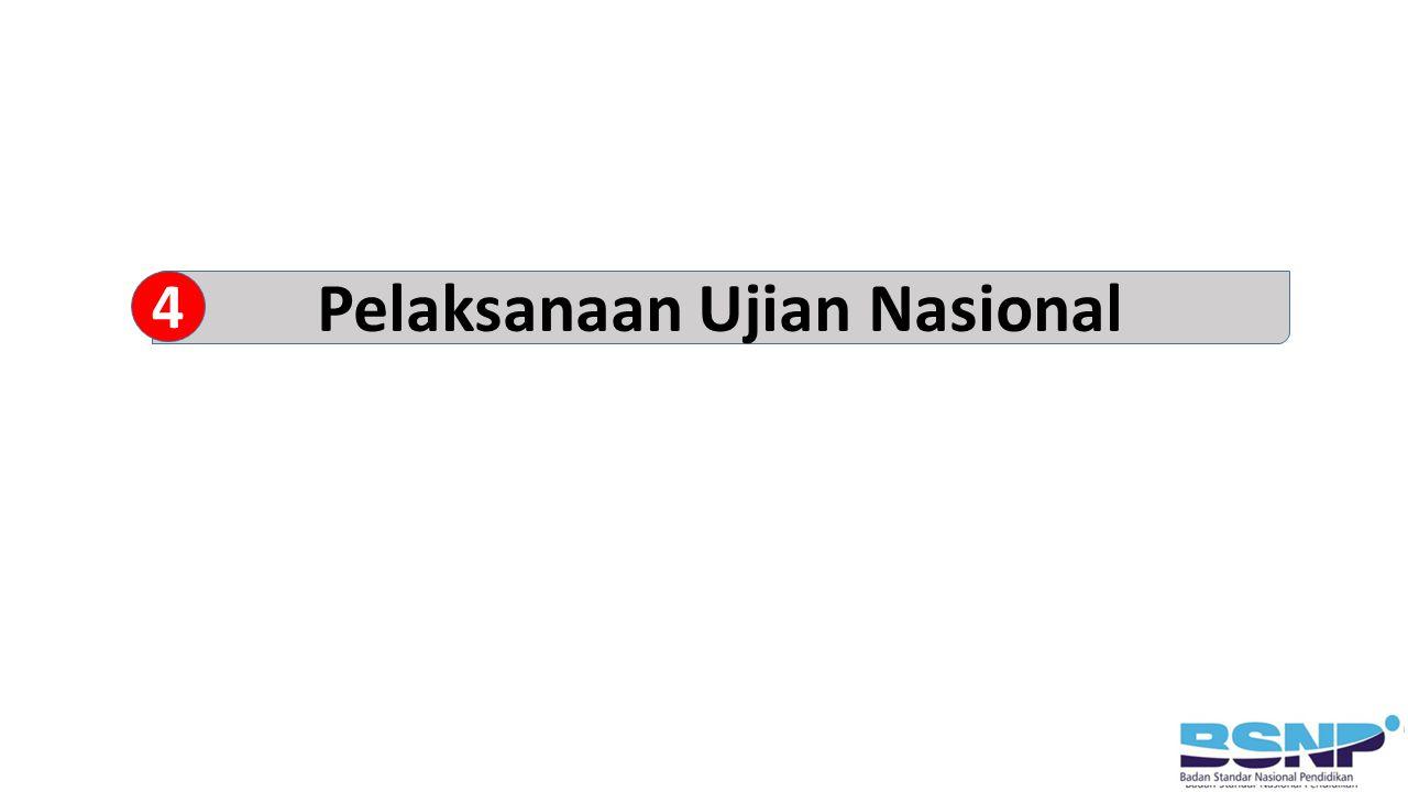 Pelaksanaan Ujian Nasional