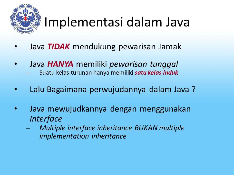 Implementasi dalam Java