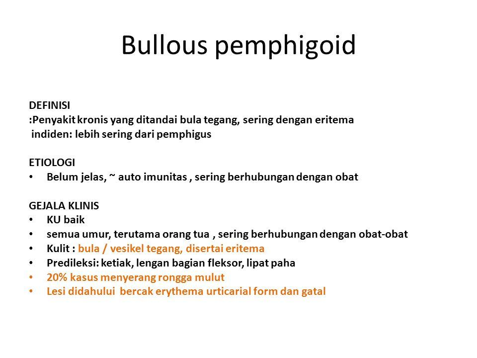 Bullous pemphigoid DEFINISI