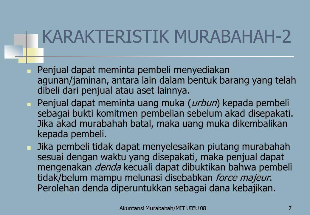 KARAKTERISTIK MURABAHAH-2