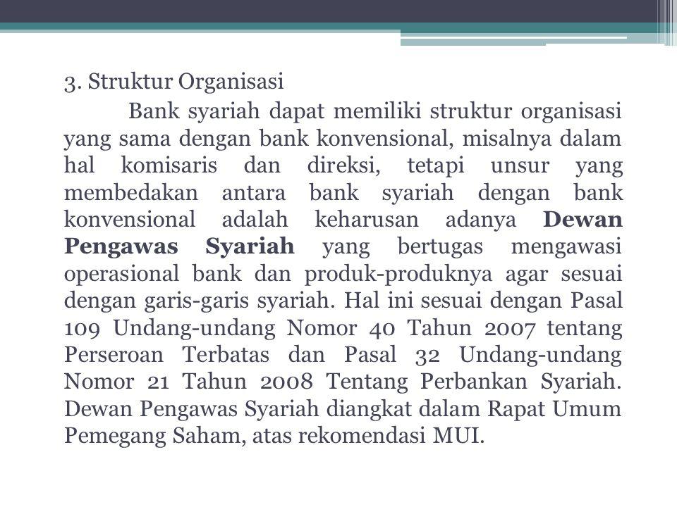 3. Struktur Organisasi