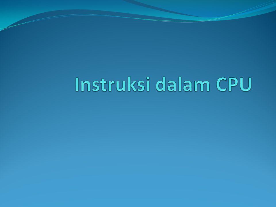 Instruksi dalam CPU