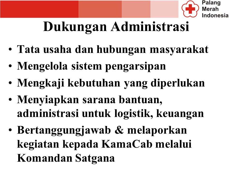 Dukungan Administrasi