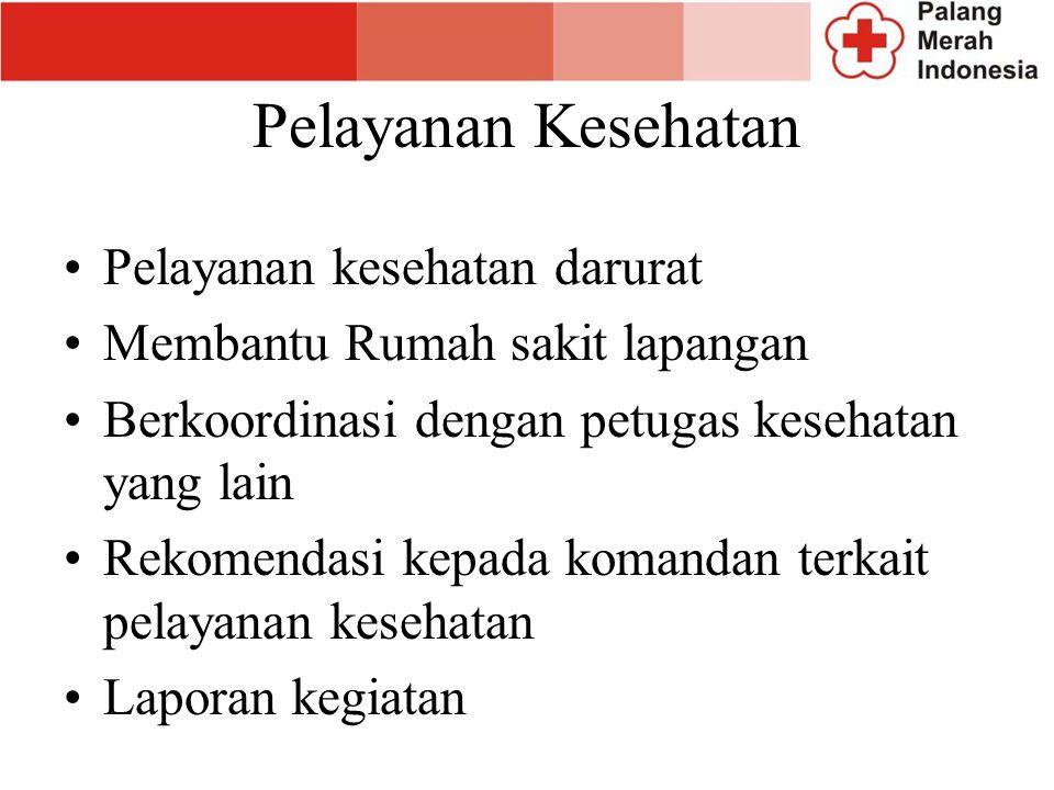 Pelayanan Kesehatan Pelayanan kesehatan darurat