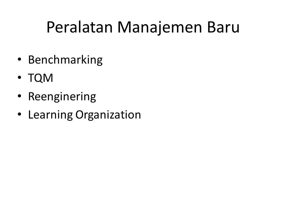 Peralatan Manajemen Baru
