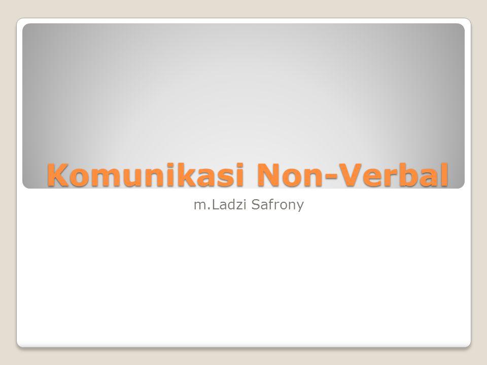 Komunikasi Non-Verbal