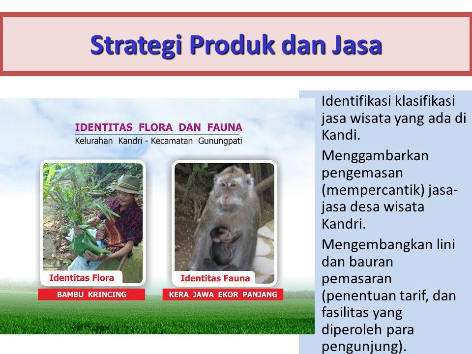 Strategi Produk dan Jasa