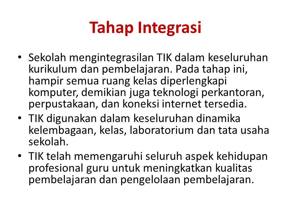 Tahap Integrasi