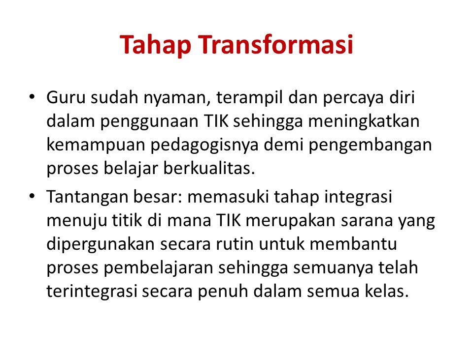 Tahap Transformasi