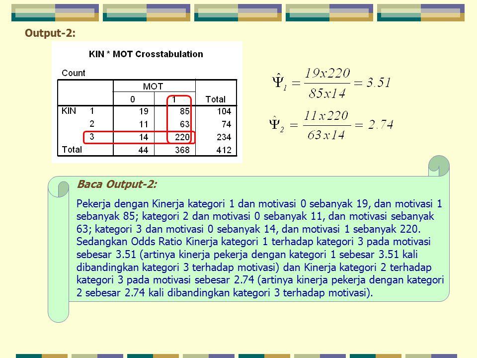 Output-2: Baca Output-2: