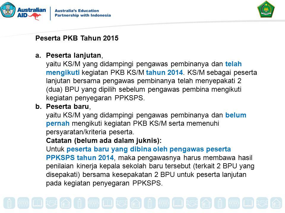Peserta PKB Tahun 2015