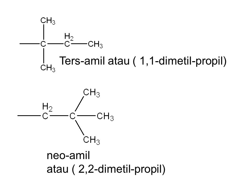 Ters-amil atau ( 1,1-dimetil-propil)