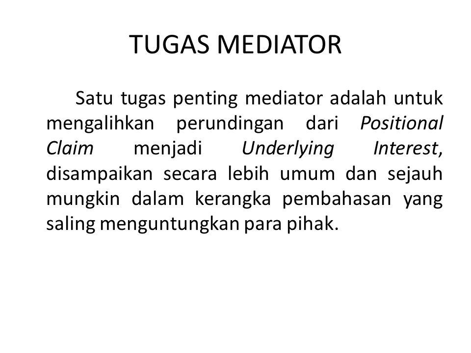 TUGAS MEDIATOR