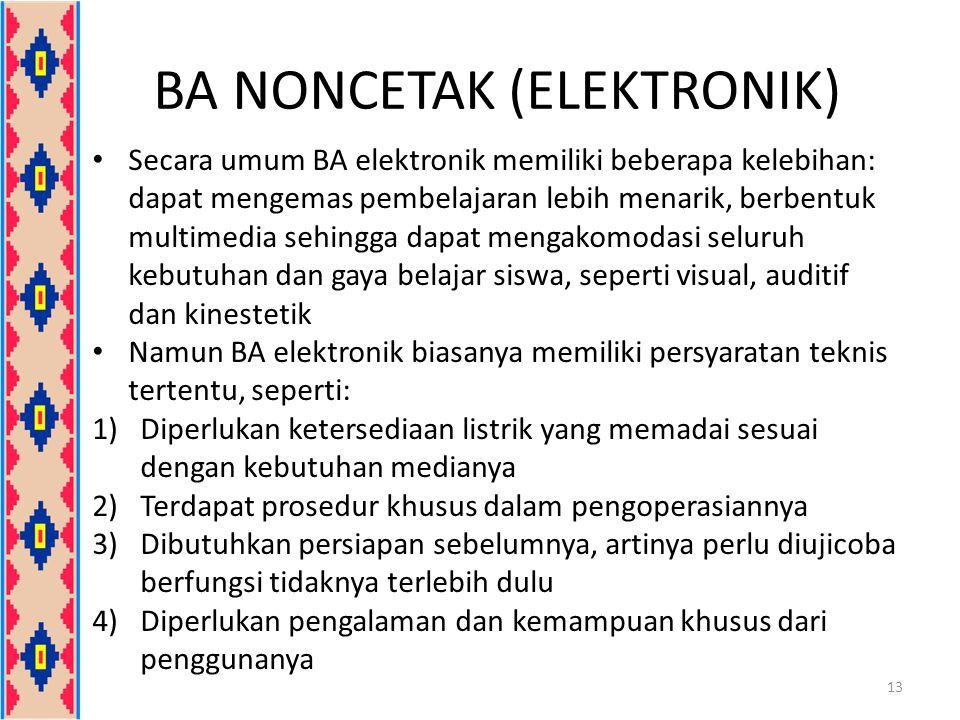 BA NONCETAK (ELEKTRONIK)
