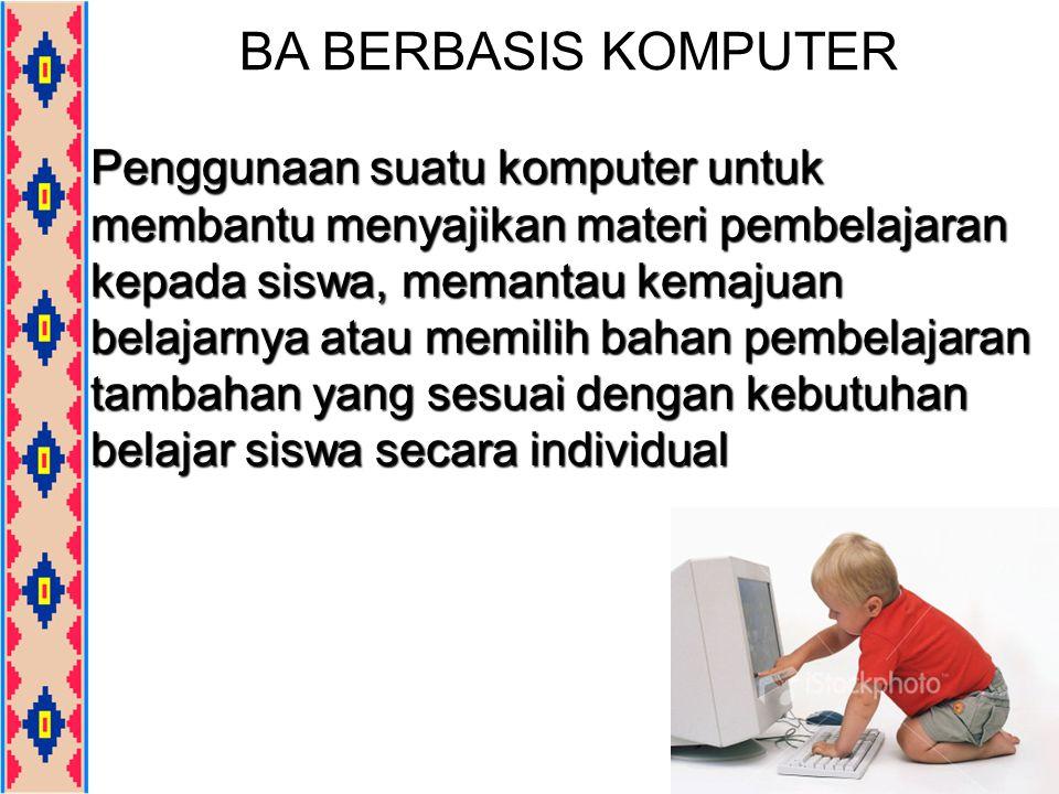 BA BERBASIS KOMPUTER