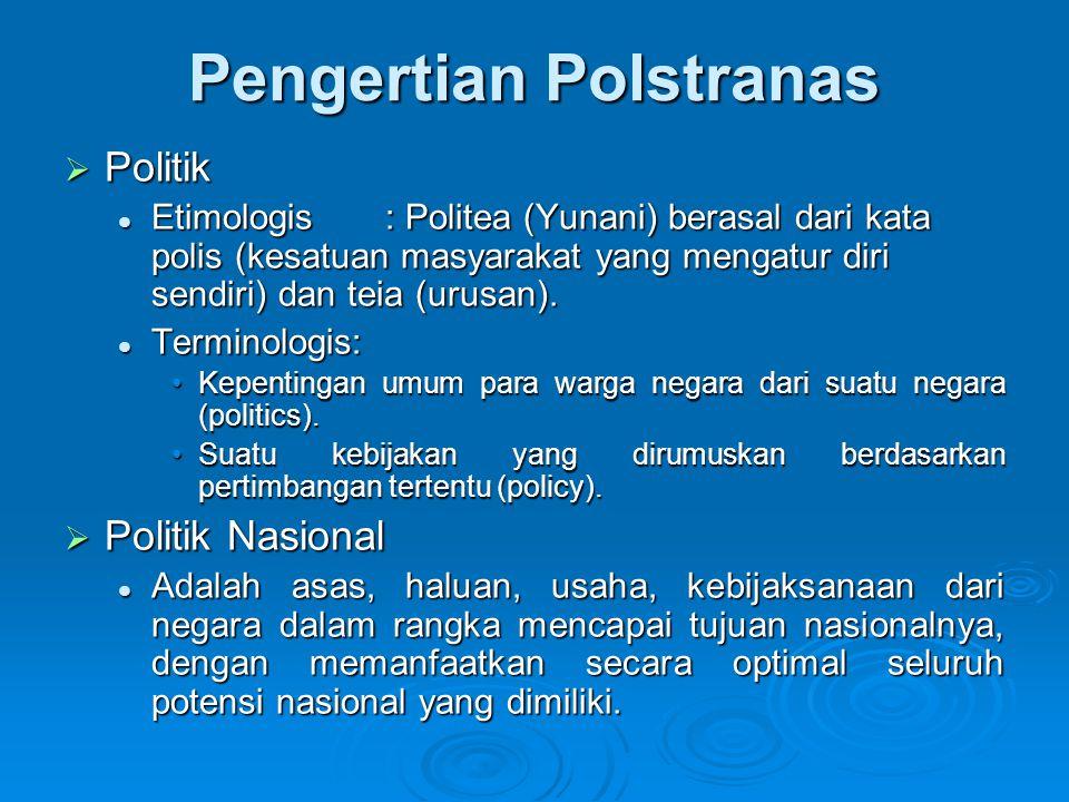 Pengertian Polstranas