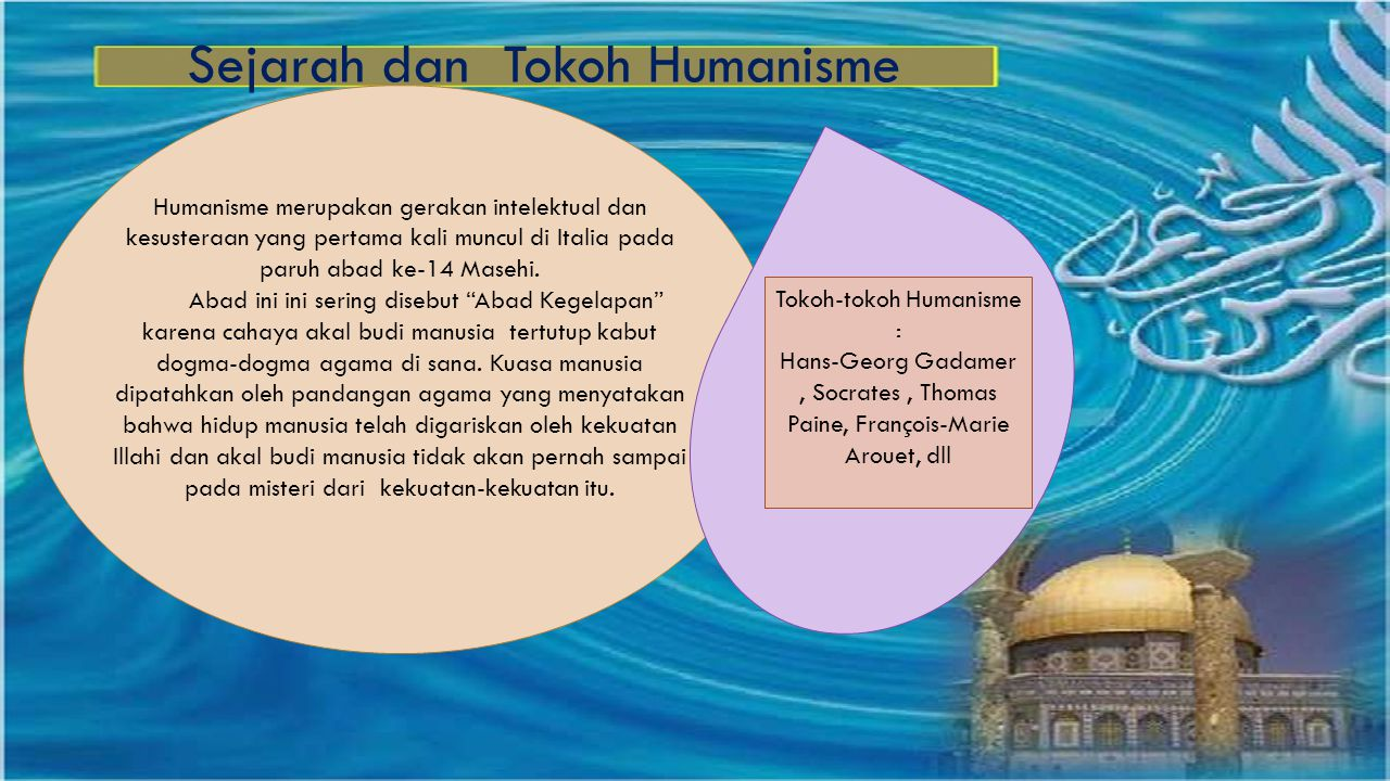 Sejarah dan Tokoh Humanisme