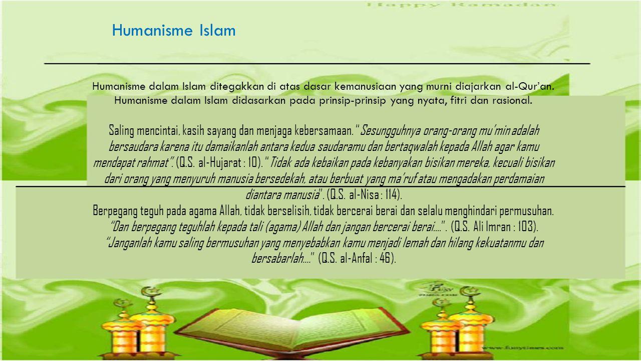 Humanisme Islam