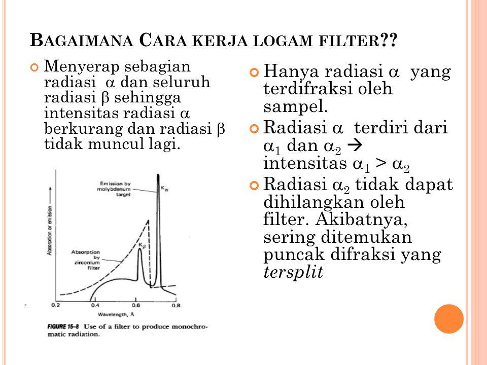 Bagaimana Cara kerja logam filter