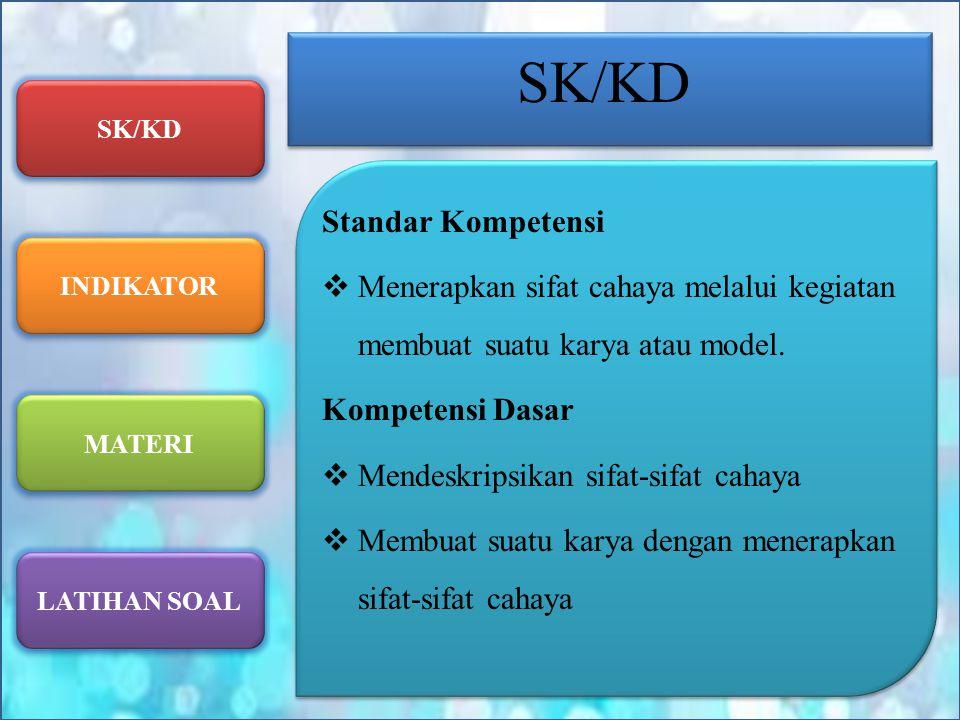 SK/KD Standar Kompetensi