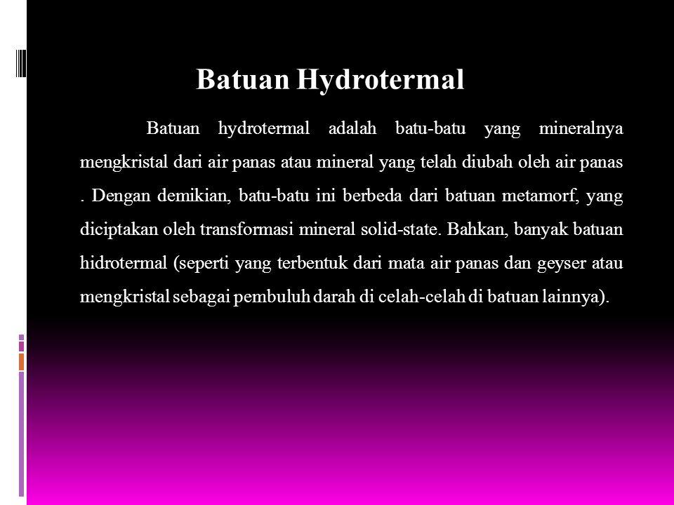 Batuan Hydrotermal