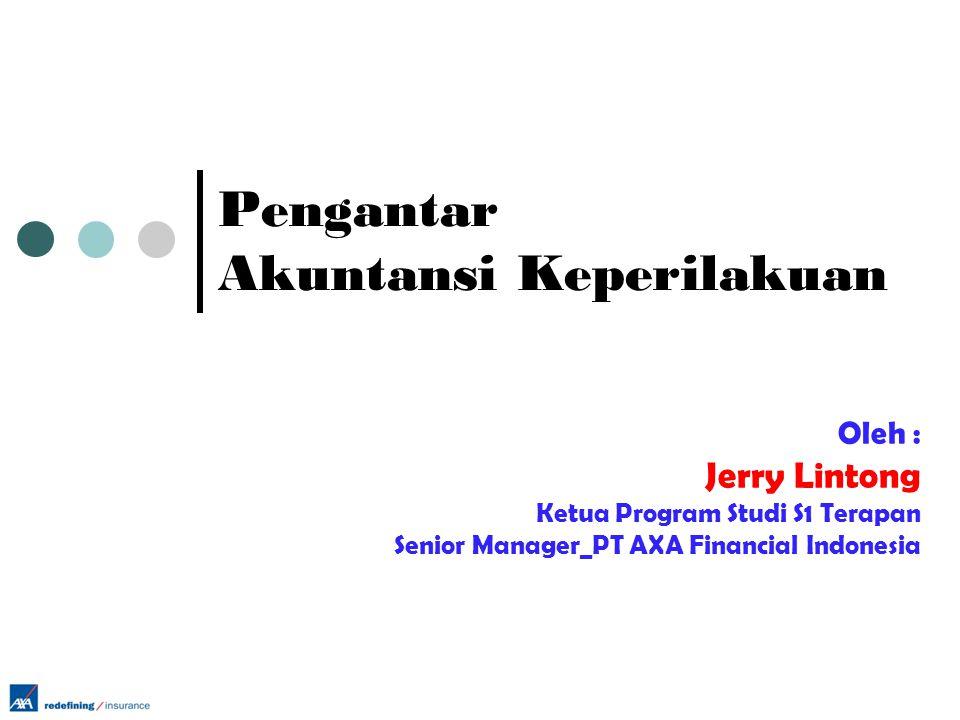Pengantar Akuntansi Keperilakuan