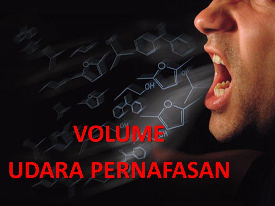 VOLUME UDARA PERNAFASAN