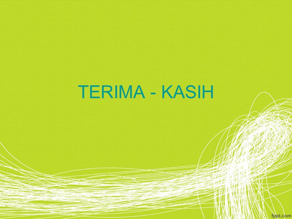 TERIMA - KASIH